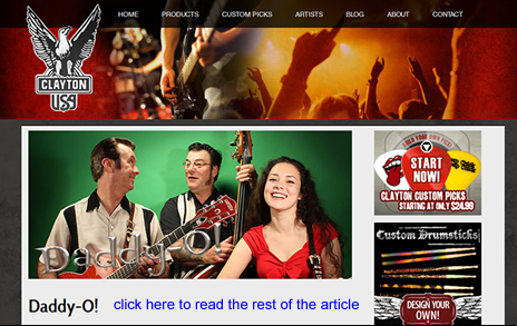 Daddy-O! featured on Steve Clayton website as endorsees - click to read the article