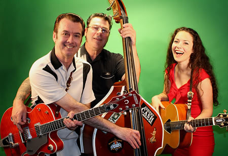 Daddy-O! with: *R.C. on guitar/vocals, Special 'K' on bass/vocals and Teen Rockabilly Singing Sensation, Brenna have been re-creating the 1950s era performing in Southern New England, Southeastern Massachusetts, Cape Cod, Rhode Island and Connecticutt.