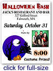 Halloween Costume Party at JACK'S RESTARAUNT AND BAR