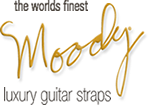 Daddy-O! uses and endorses Moody Guitar Straps